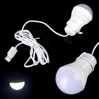 Flexible LED 5V 15W Bulb USB Light Lamp for Notebook Laptop Reading Power Bank