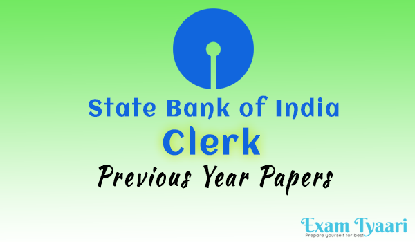 SBI Clerk : Previous Year Question Paper-2009 (Second Sitting) [PDF] - exam tyaari