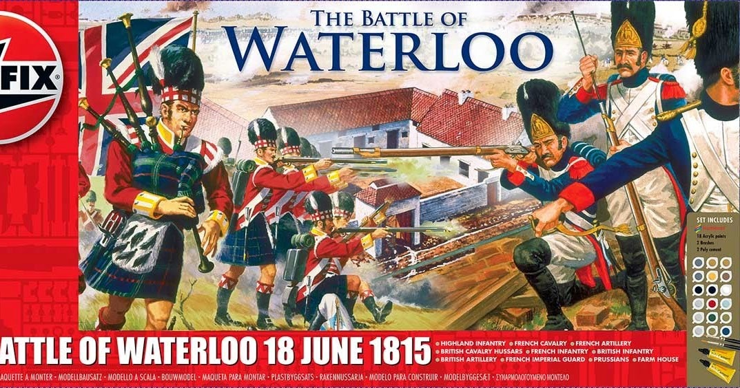 General Reeve New Napoleonic Sets Needed For Waterloo 200