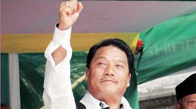 Bimal Gurung talks over Kalimpong district