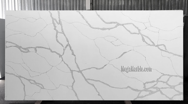 White quartz countertops that look like marble3