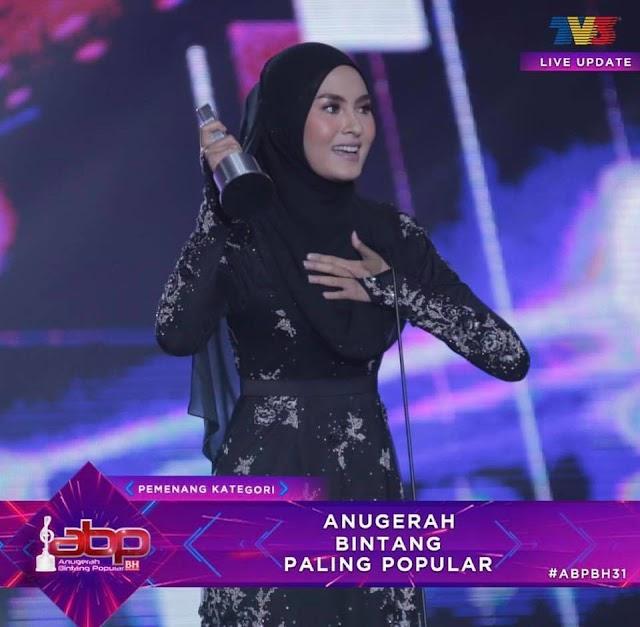 Senarai Penuh Pemenang Anugerah Bintang Popular Berita Harian 2018