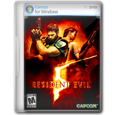 RESIDENT EVIL 5 PC للكمبيوتر كاملة ومضغوطة  resident evil V pc برابط مباشر بحجم صغير  برابط مباشر تحميل لعبة الأكشن والرعب شغالة برابط مظغوطة