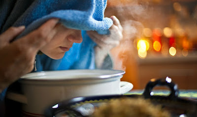 natural steam reduces dry cough