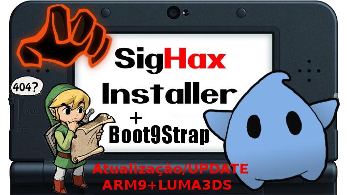 TUTORIAL 3DS] Boot9Strap Como Atualizar Desbloqueio 3DS ARM9+LUMA3DS