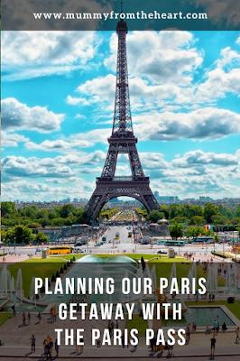 Paris planning pin