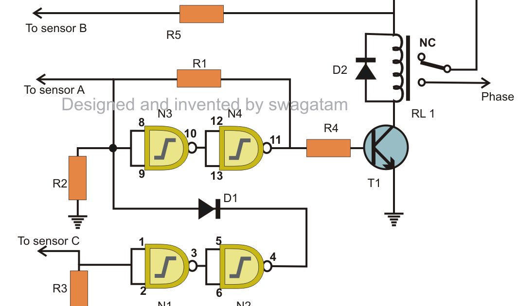 28+ [ Simple Water Level Controller Circuit Diagram ... Water Level Sensor Schematic on