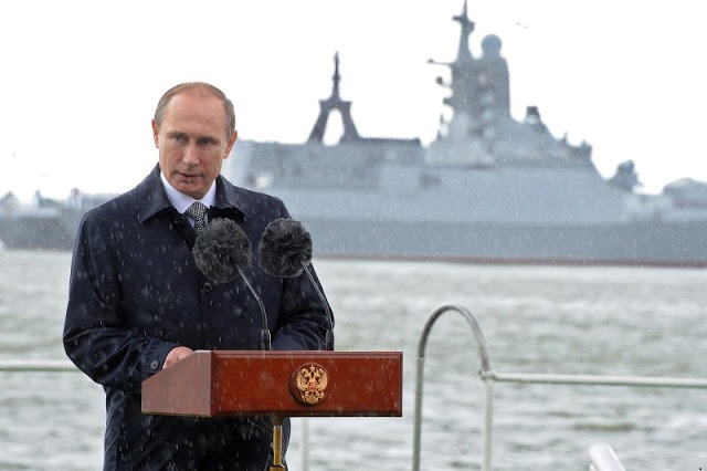All Foreign Warships To Obey Russia's NSR Rules
