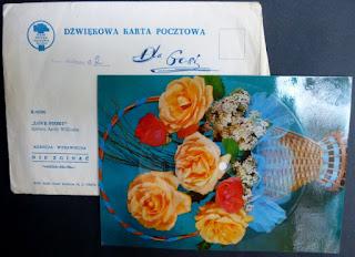 pocztówka dźwiękowa    postcard records