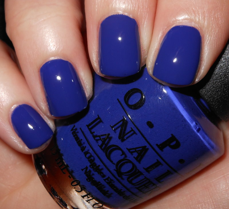 Imperfectly Painted Opi Eurso Euro