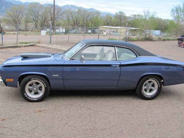 1972 Plymouth Duster Classic Muscle Car For Sale In Mi: 1972 Plymouth Duster Classic Muscle