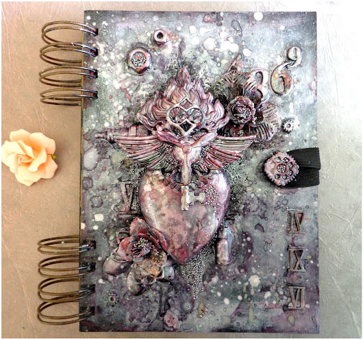 NEW ART JOURNAL COVER WITH STEP-BY-STEP - 13 ARTS