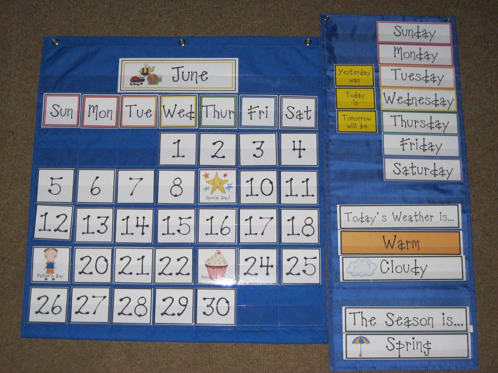 First Grade Fanatics Our New Calendar Set And Give Away