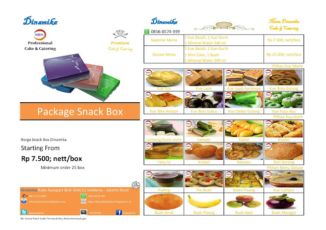 menu snack murah meriah jakarta