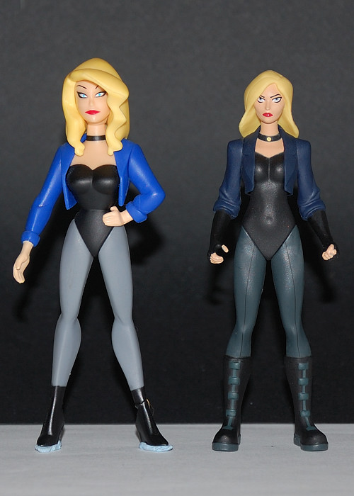 "Come, See Toys: Young Justice 4"" Black Canary and Superboy"