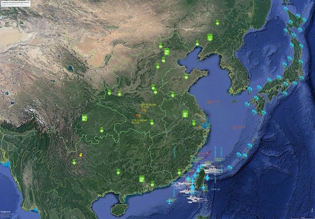 China OTH-B radar network