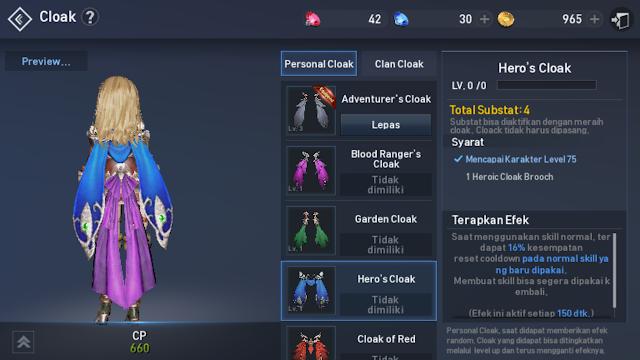 Hero's Cloak