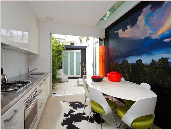 contemporary modern design beautiful mural ideas modern house plans designs 2014. Black Bedroom Furniture Sets. Home Design Ideas