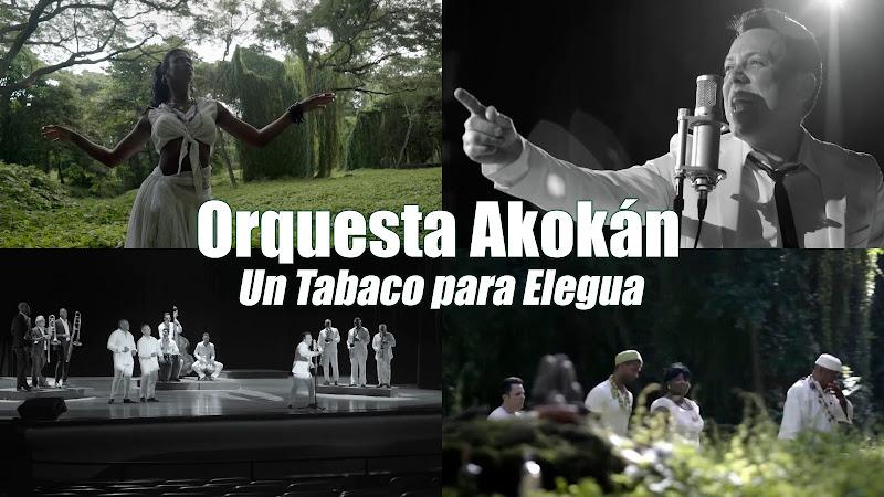 Orquesta Akokán - ¨Un Tabaco para Elegua (Elegguá)¨ - Videoclip. Portal del Vídeo Clip Cubano