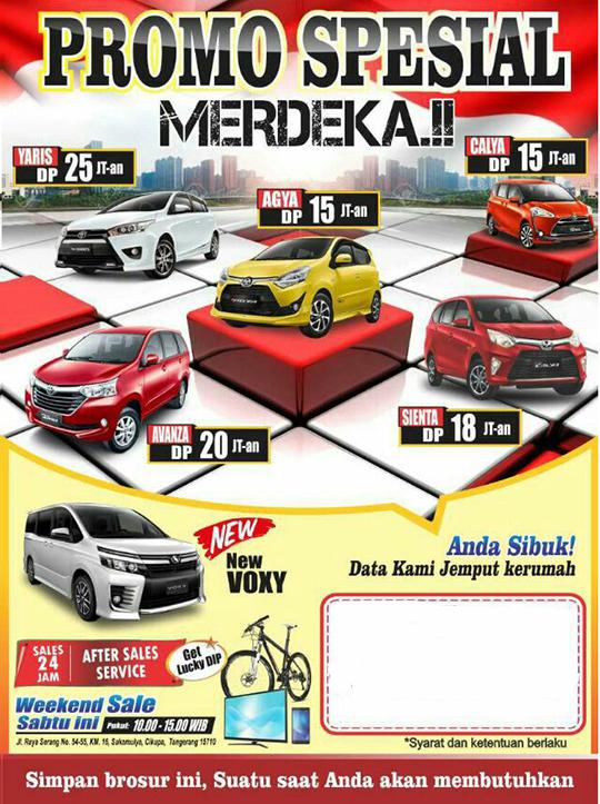 Promo Toyota Pasar Minggu Jakarta Selatan