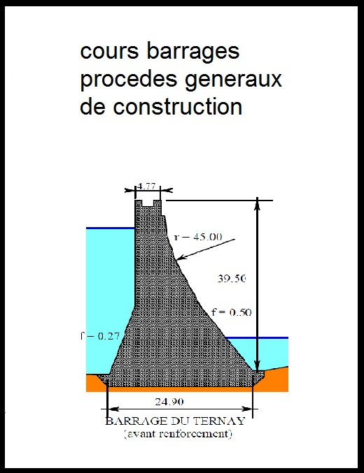 Cours barrages procedes generaux de construction pdf book batiment architecture for Cours de construction pdf