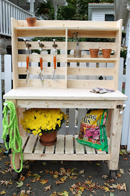 Pleasant Potting Bench Outdoor Bar Buy Or Build Brooklyn Limestone Squirreltailoven Fun Painted Chair Ideas Images Squirreltailovenorg