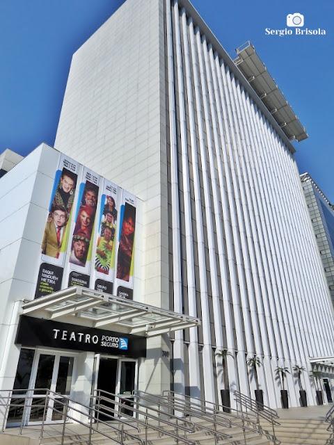 Vista ampla do Teatro Porto Seguro - Campos Elíseos - São Paulo