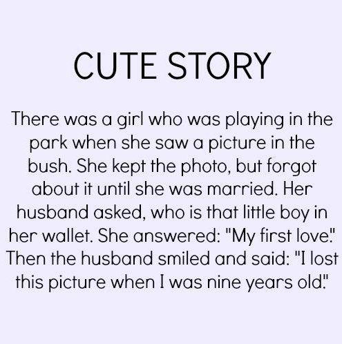 Short love story