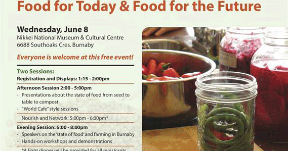 Burnaby Food First Food Security Through Community Action And Support Food Forum Food For
