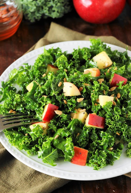 Kale & Apple Salad with Honey Image