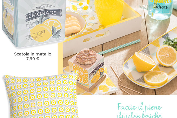 Maisons du Monde mint lemon
