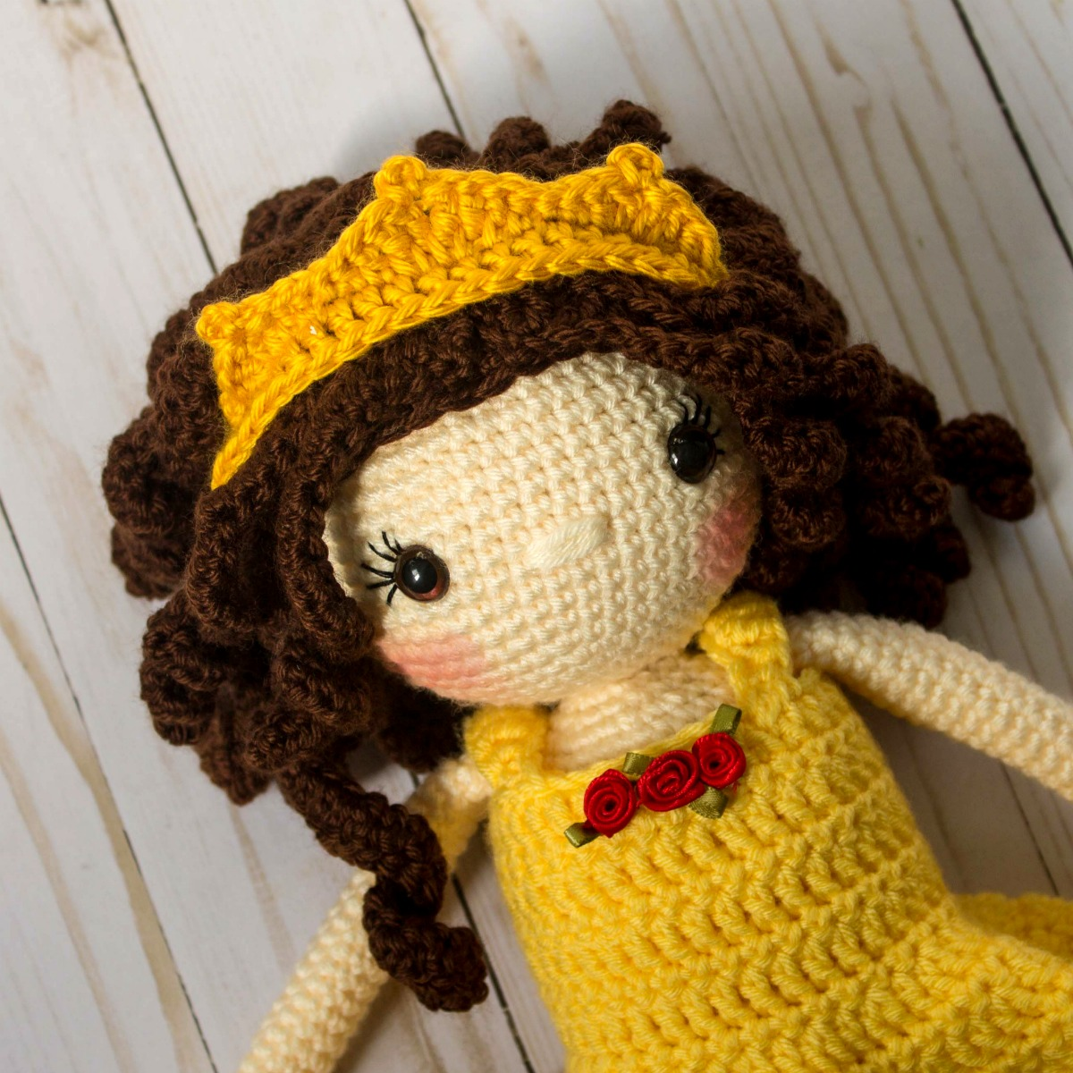 Crochet Princess Doll Pattern - thefriendlyredfox.com
