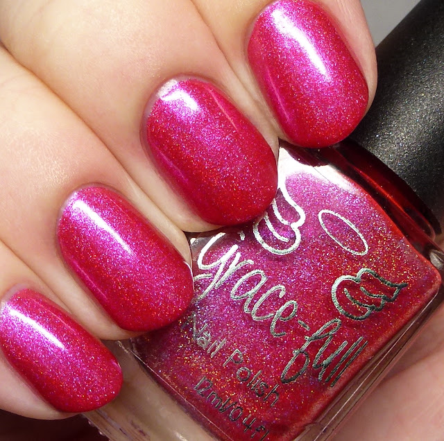 Grace-full Nail Polish Pink Lake