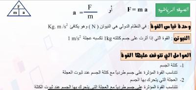 سلسلة الوكيل في الفيزياء للصف الاول الثانوي 2019