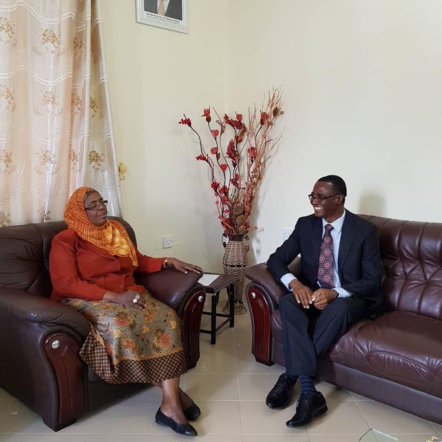 Hakipensheni Courtesy Visit By Bank Of Africa In Zanzibar