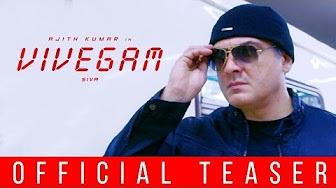 Vivegam Official Teaser Review | Thala Ajith, Director Siva, Kajal Agarwal | Trailer Reactions