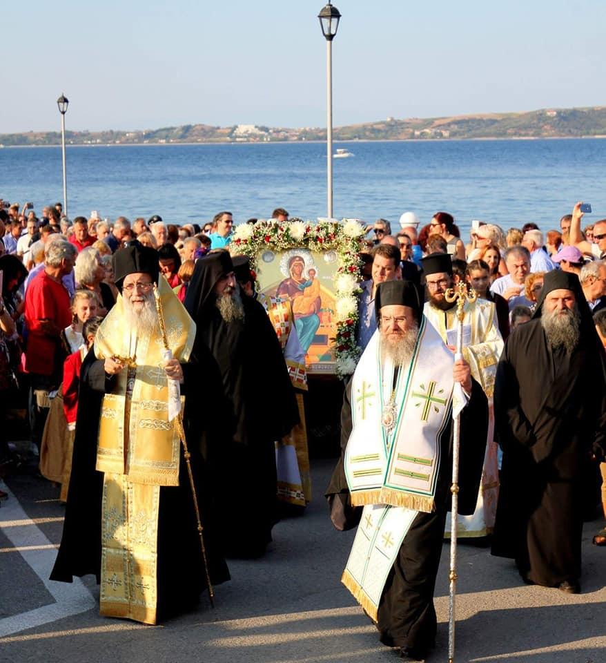 Η Παναγία η Στυλαρινή μετά από 94 χρόνια στην Αμμουλιανή (ΦΩΤΟ)