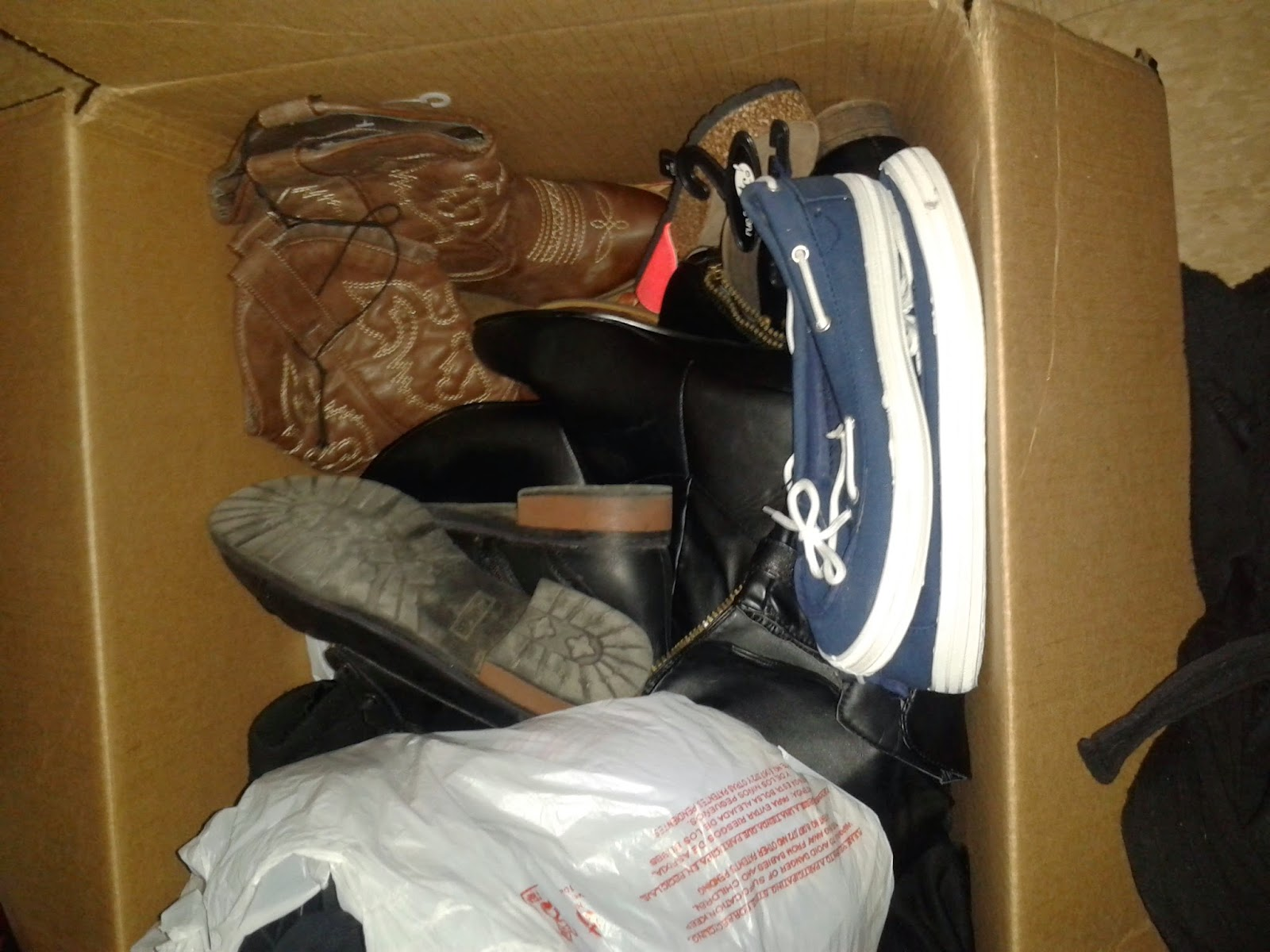 Tons Of New Shoes In A Dumpster