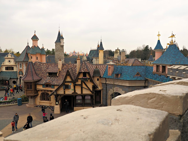disneyland paris view from castle