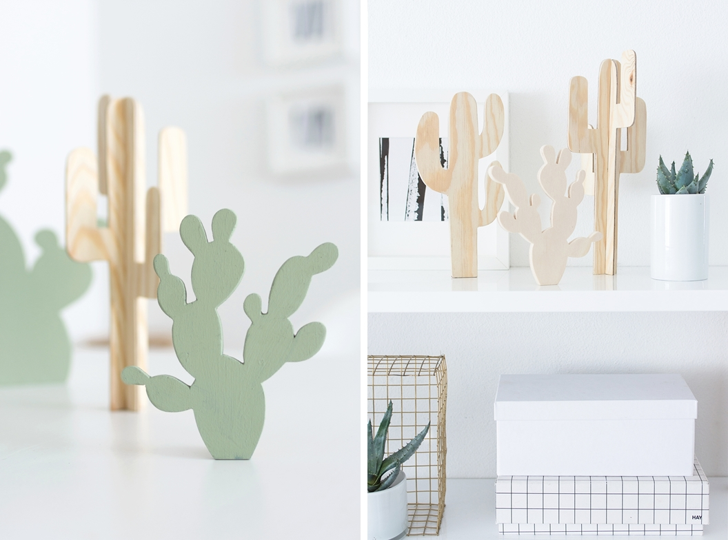 Diy kaktus aus holz vorlagen sinnenrausch der - Weihnachtsdeko aus holz vorlagen ...