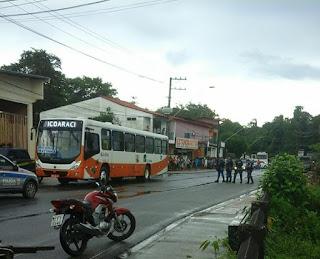 GAT da Guarda Municipal de Belém (PA) detém  dois marginais após fazer reféns dentro de ônibus