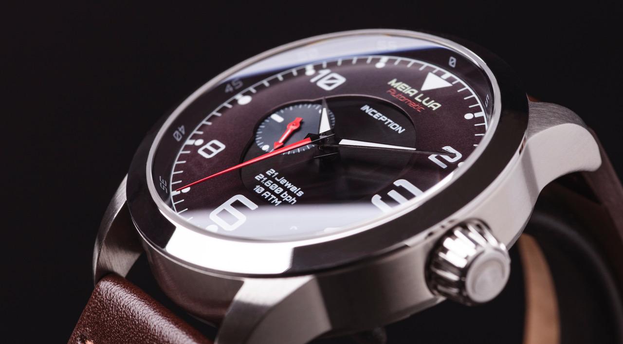 fba12b5be4c http   www.meialuawatches.com e limitado a 350 exemplares. Tem caixa de 42  mm e custa 329 ou 369 euros