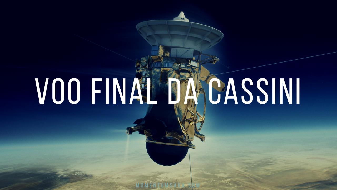 Voo final da Cassini