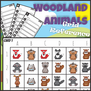 Grid Reference Game Plus A Freebie