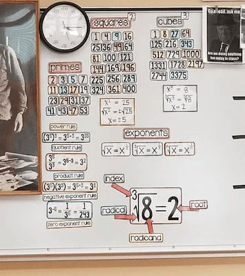 Ms. Mac math word wall