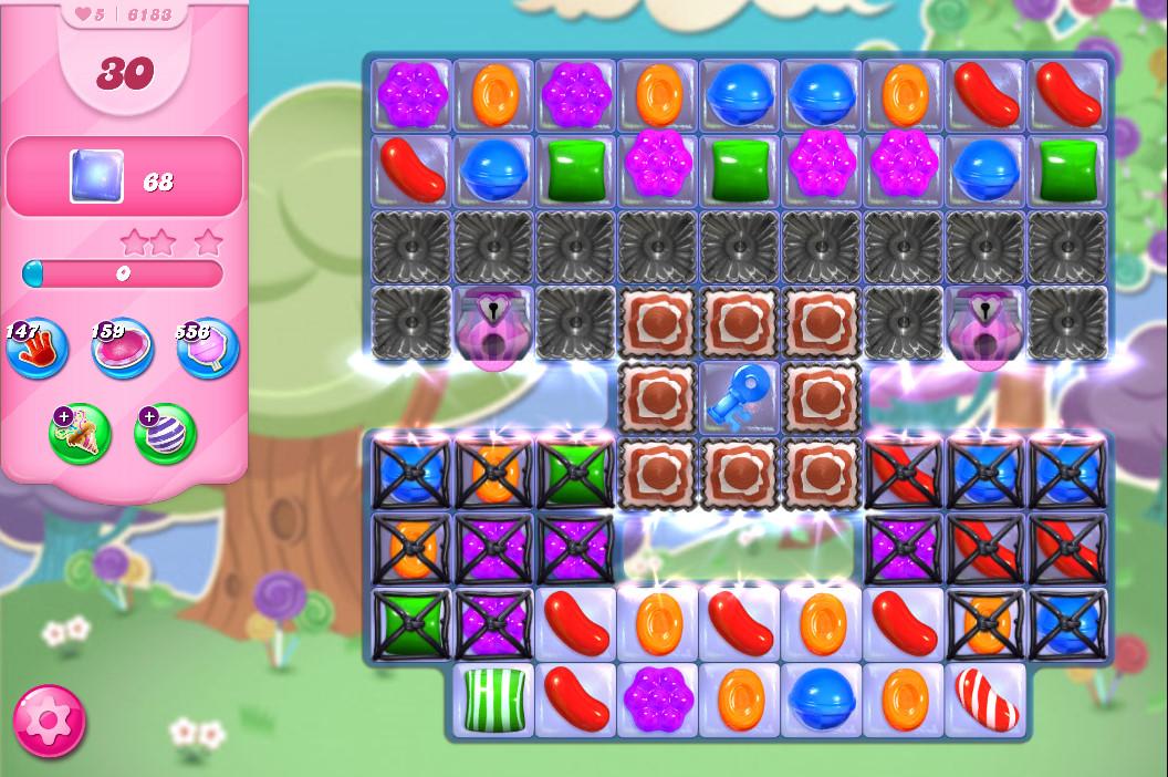 Candy Crush Saga level 6183