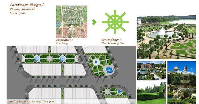 Phương án thiết kế cảnh quan hoành tráng tại Louis City