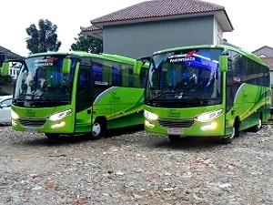 Sewa Bus Medium Jakarta Bogor
