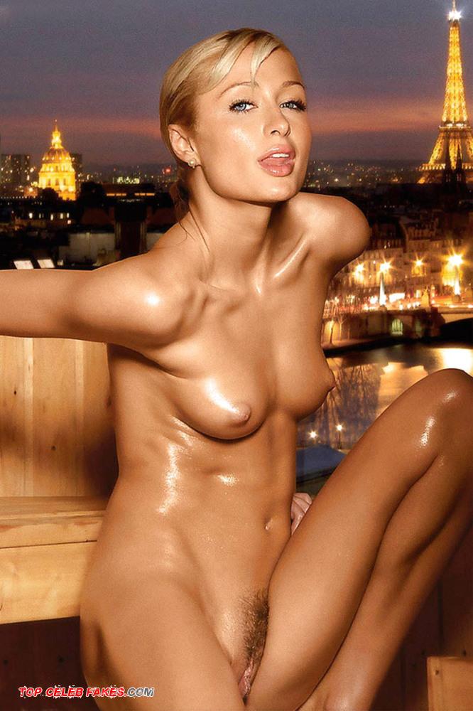 Paris Hilton Posing Naked 52