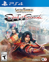 Samurai Warriors: Spirit of Sanada Game Cover PS4